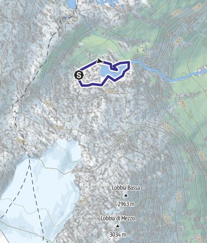 Map / Lago Nuovo X