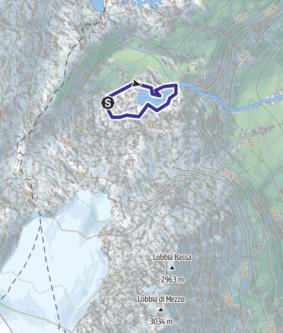 Karte / Lago Nuovo X