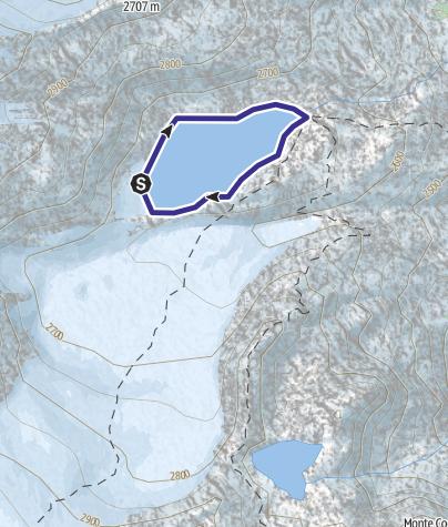 Karte / Lago Lares X
