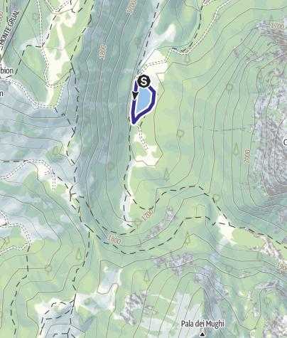 Karte / Lago di Valagola X