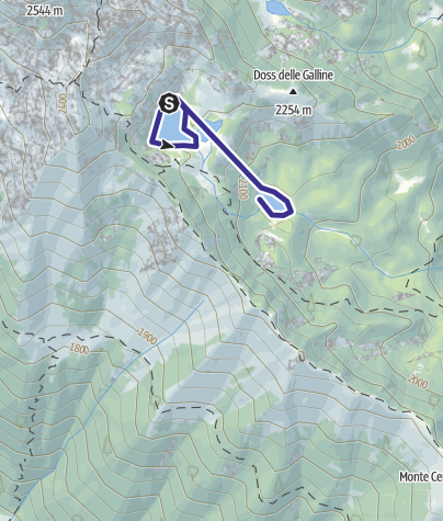 Karte / Laghi di Valbona W
