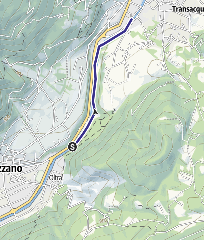 Karte / Torrente Cismon Basso B1