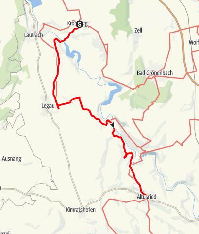 Karte / Jakobus-Pilgerweg Illerwinkel