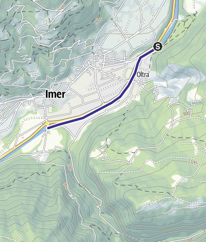 Cartina / Torrente Cismon Basso B2