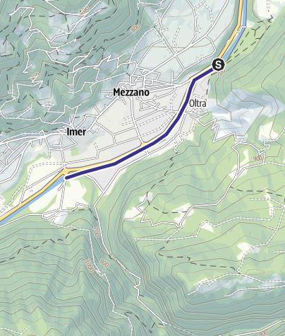 Mappa / Torrente Cismon Basso B2