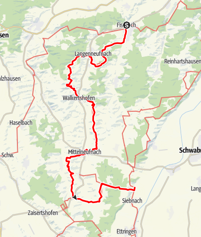 Karte / Stauden-Meditations-Weg