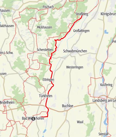 Karte / Pfarrer-Kneipp-Weg