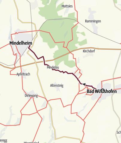 Karte / Frundsbergweg