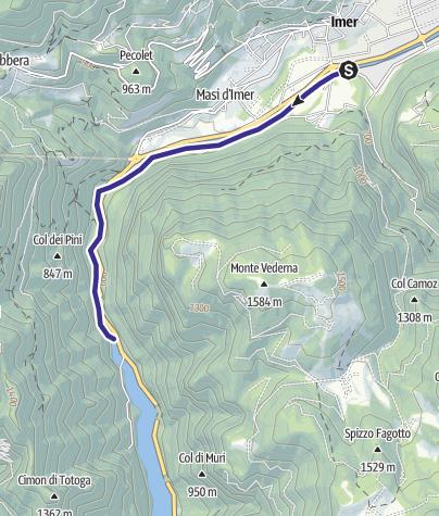 Map / Torrente Cismon Basso B3