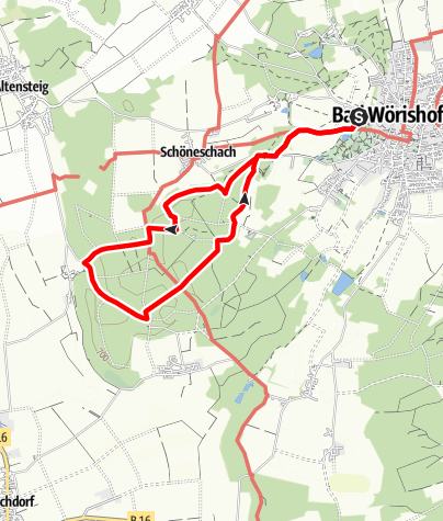 Karte / Terrainkurweg 2 Bad Wörishofen