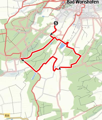 Karte / Terrainkurweg III Bad Wörishofen