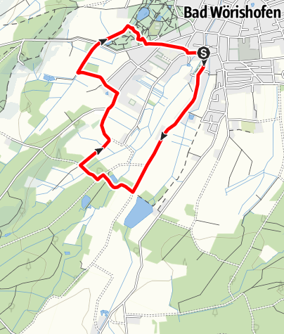 Karte / Nordic Walking III Bad Wörishofen