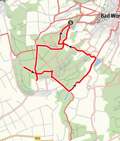 Karte / Kneipp-Waldweg