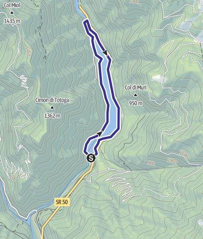 Mappa / Lago Schener D