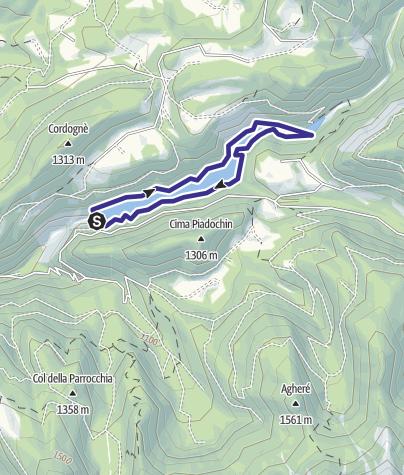 Cartina / Lago Noana E