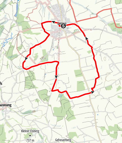 Karte / Kapellenweg Süd