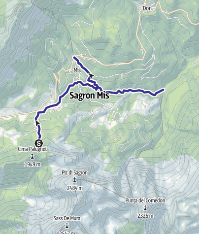 Map / Torrenti Sagron - Mis F