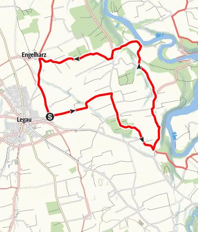 Karte / Ehrensberg-Runde