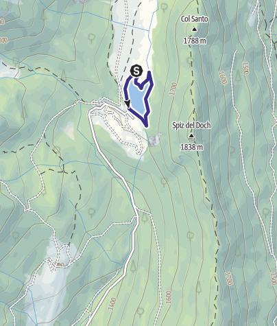 Karte / Lago Calaita G