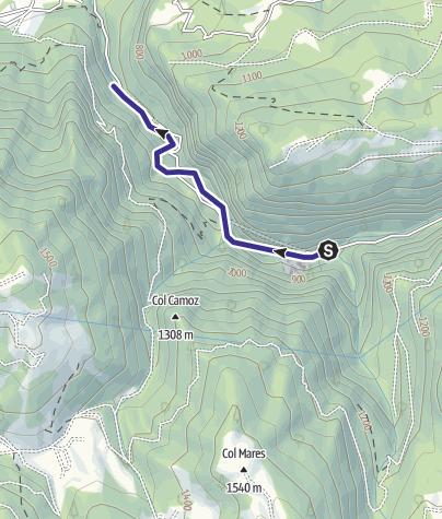 Mappa / Torrente Noana X1