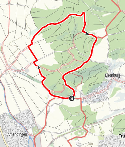 Karte / Eisenburger Wald Runde