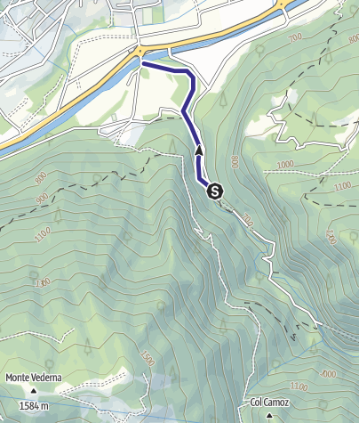 Cartina / Torrente Noana NK2