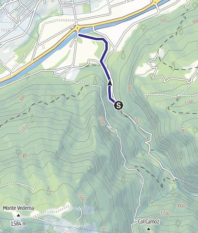 Mappa / Torrente Noana NK2