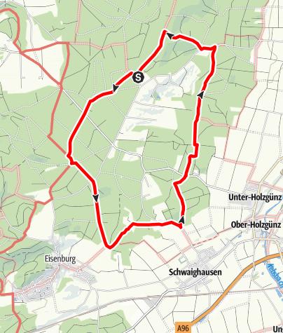 Karte / Rund ums Lauberhart