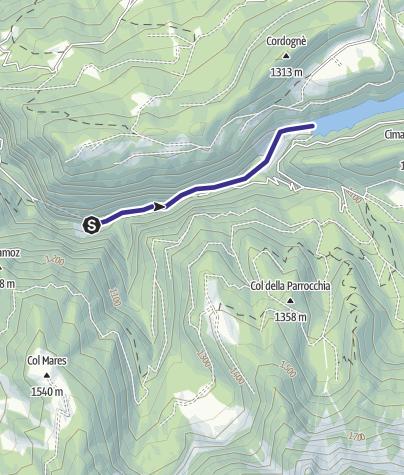 Mappa / Torrente Noana XM