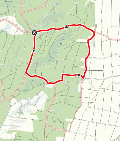 Karte / Eichelgarten Runde