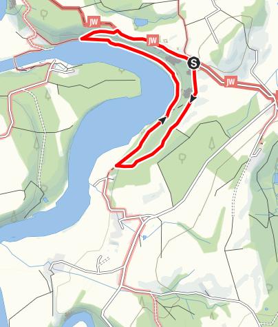 Karte / Rundweg Illerschleife