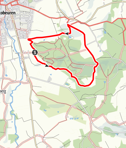 Karte / Rundweg Schelmenheide