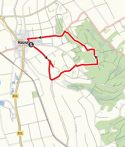 Karte / Simonsberg Runde