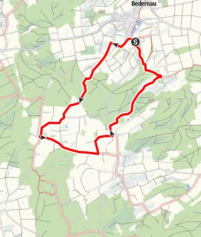 Karte / Baumgärtle Bedernau Runde