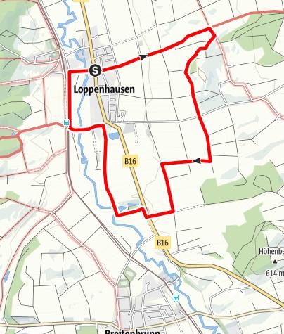 Karte / Boschhorn Runde