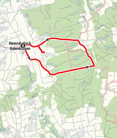 Karte / Schönegger Forst Runde