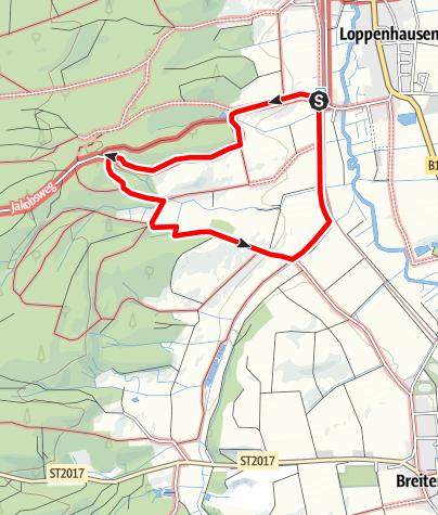 Karte / Kleine Frauenwald Runde