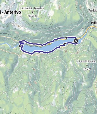 Karte / Lago di Stramentizzo C