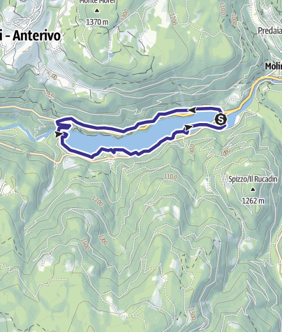 Mappa / Lago di Stramentizzo C
