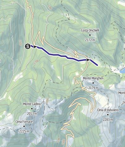 Cartina / Rio Paganini E