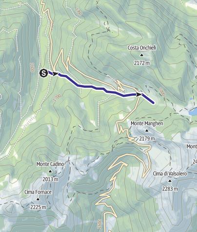 Karte / Rio Paganini E