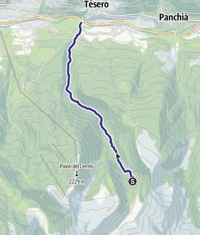 Cartina / Rio Lagorai B