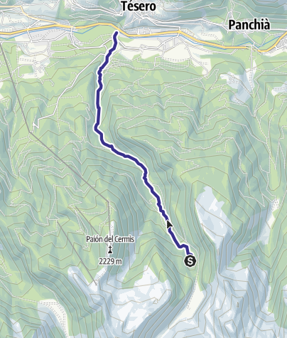 Karte / Rio Lagorai B