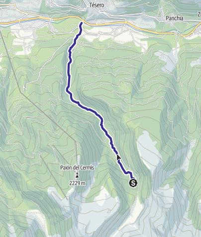 Map / Rio Lagorai B
