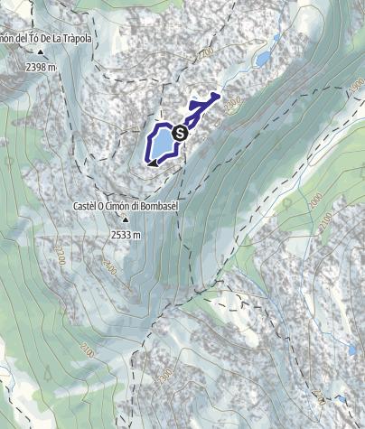 Cartina / Lago di Bombasel D