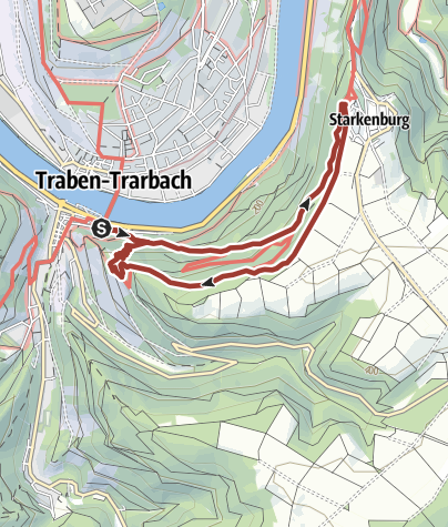 Karte / T 13 - Lorettaweg - auf den Spuren einer starken Frau