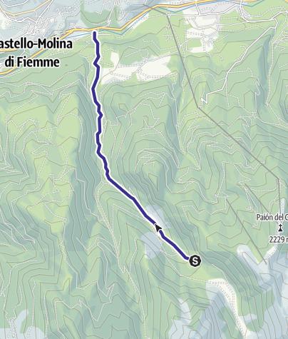 Karte / Rio Val Moena