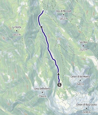 Karte / Rio Forame C