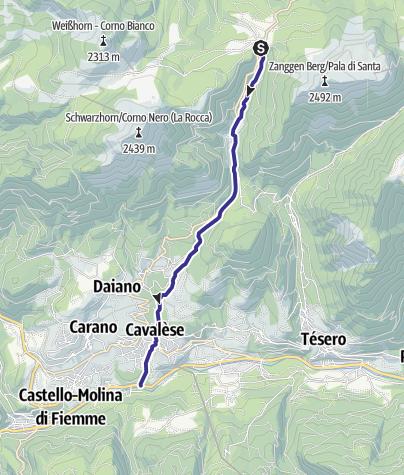 Mappa / Rio Lavazè E