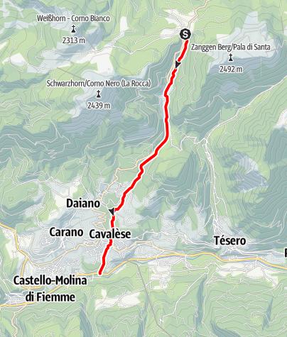 Map / Rio Lavazè E